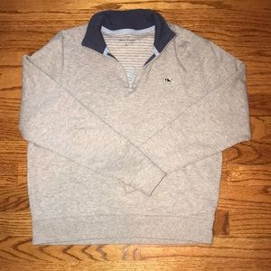 Unisex vineyard vines quarter zip